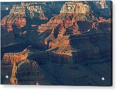 Sunset At The South Rim, Grand Canyon Acrylic Print