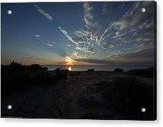 Acrylic Print featuring the photograph Sunset At Torrey Pines by Jeremy McKay