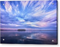 Sunset Awe  Signed Acrylic Print