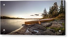 Sunset // Boundary Waters Canoe Area, Minnesota  Acrylic Print