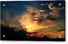 Sunset Of The End Of June Acrylic Print