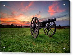 Sunset Canon Acrylic Print