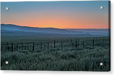 Sunset, Carrizo Plain Acrylic Print by Joseph Smith