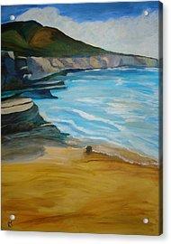 Sunset Cliffs Acrylic Print