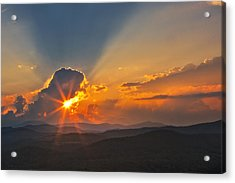 Sunset - Close Another Day Acrylic Print