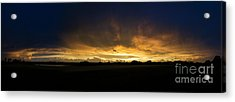 Acrylic Print featuring the photograph Sunset Clouds by Brian Jones