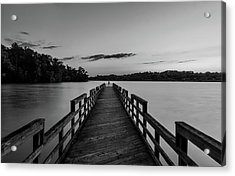 Sunset - Concord Park, Knoxville, Tennessee Acrylic Print