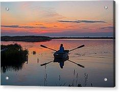 Sunset  Crossing Acrylic Print