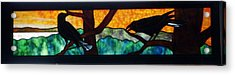 Sunset Crows Acrylic Print by Jane Croteau