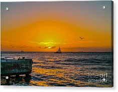 Sunset Cruise - Key West 2 Acrylic Print