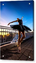 Sunset Dancer Acrylic Print