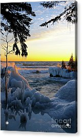 Sunset Delight Acrylic Print