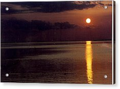 Acrylic Print featuring the photograph Sunset by Denise Moore