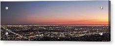 Sunset Dreaming Acrylic Print