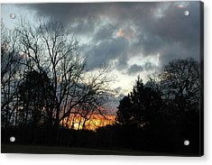 Acrylic Print featuring the photograph Sunset Dreams by Kicking Bear  Productions