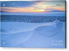 Sunset Drift Acrylic Print by Idaho Scenic Images Linda Lantzy