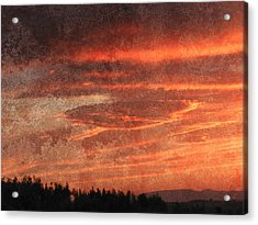 Sunset Event Acrylic Print by Dorothy Berry-Lound
