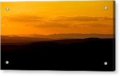 Acrylic Print featuring the photograph Sunset by Evgeny Vasenev