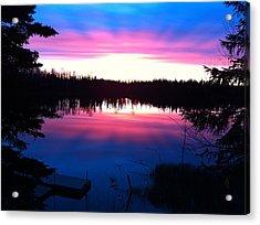 Sunset Explosion Acrylic Print