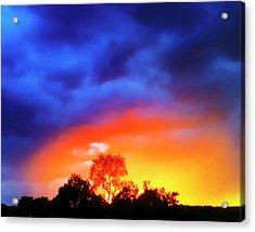 Sunset Extraordinaire Acrylic Print