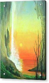 Sunset Fall  Acrylic Print by Daniel Sanchez