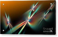 Sunset Flyers Acrylic Print by Sandra Bauser Digital Art