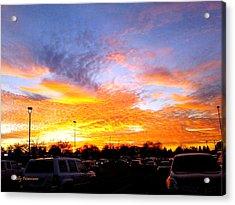 Sunset Forecast Acrylic Print