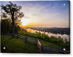 Sunset From Boreman Park Acrylic Print
