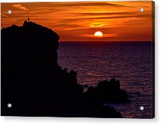 Sunset From Costa Paradiso Acrylic Print