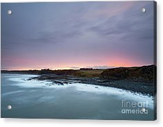 Sunset From Cullernose Point Acrylic Print