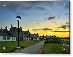Sunset From Fittie Acrylic Print