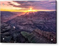 Sunset From Lipan Point Acrylic Print