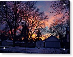 Sunset From My View Acrylic Print