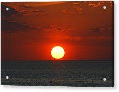 Sunset From The Montauket Hotel Acrylic Print