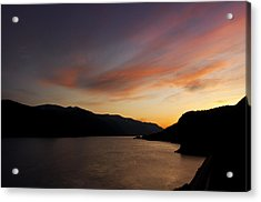 Sunset From Tunnel 6 Acrylic Print