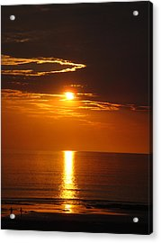 Sunset Glory Acrylic Print by Kelly Jones
