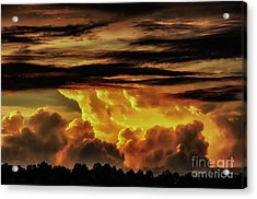 Sunset Glory Acrylic Print by Thomas R Fletcher