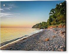 Sunset Glow Over Lake Acrylic Print