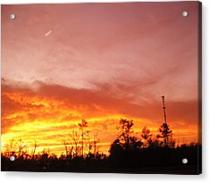 Sunset Acrylic Print by Gracey Tran