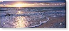 Sunset, Gulf Of Mexico, Florida, Usa Acrylic Print