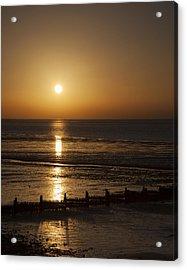 Sunset Hunstanton Acrylic Print