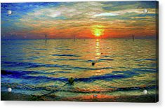 Sunset Impressions Acrylic Print