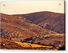 Acrylic Print featuring the photograph Sunset In Athens by Nikos Stavrakas