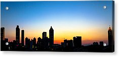 Sunset In Atlaanta Acrylic Print