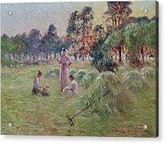 Sunset In Beynac-et-cazenac Acrylic Print