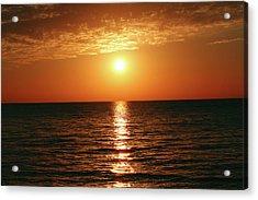 Sunset In Bimini Acrylic Print