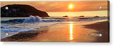 Sunset In Brookings Acrylic Print