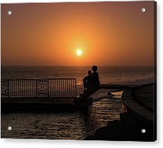 Sunset In Cerritos Acrylic Print
