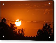 Acrylic Print featuring the photograph Sunset In Charleston by Donna Bentley