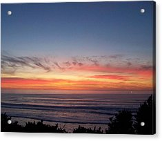 Sunset In December Acrylic Print